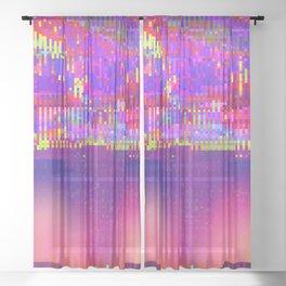 Auroralloverdrive Sheer Curtain