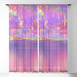 Auroralloverdrive Sheer Curtain