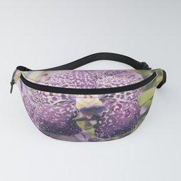 Purple Vanda Orchid Fanny Pack