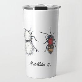 Velvet Ants; Mutillidae Travel Mug