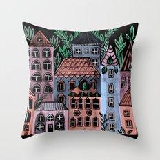 Little Street Throw Pillow