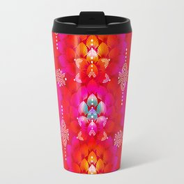 Variations on A Feather IV - Stars Aligned (Firebird Edition) Travel Mug