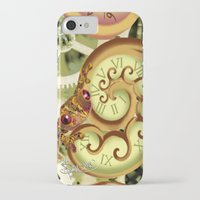 clockwork iPhone & iPod Cases featuring Clockwork. by Sylvie Heasman