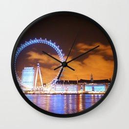London Midnight Eye Wall Clock