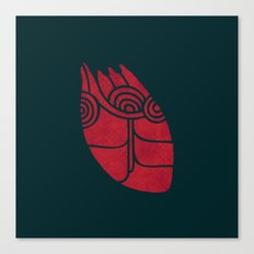 (heart) Canvas Print