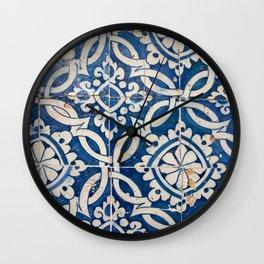 Vintage portuguese azulejo Wall Clock