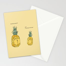 Hawaiian Pizza Stationery Cards