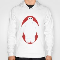 baymax Hoodies featuring Baymax by Polvo