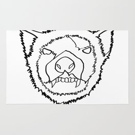 tasmanian devil Rug