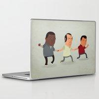 gta Laptop & iPad Skins featuring GTA Friends by Jimmy Rogers