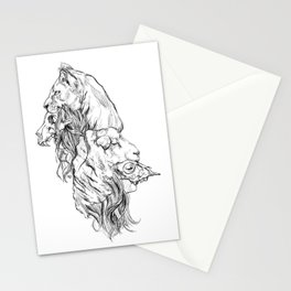 The Lion and The Lamb Stationery Cards