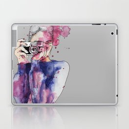 Selfie by carographic Laptop & iPad Skin