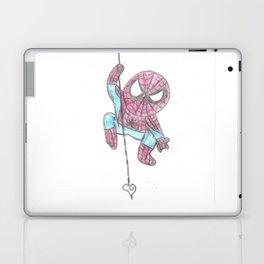 Spider Guy love web Laptop & iPad Skin