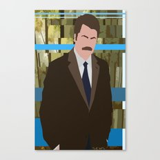The Swanson Canvas Print