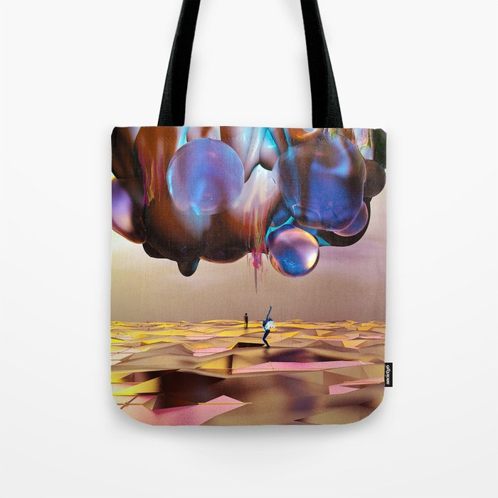 Frequency Shift Tote Bag