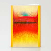rothko Stationery Cards featuring After Rothko 8 by Gary Grayson