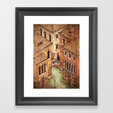 One day in Venice Framed Art Print