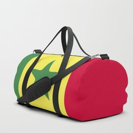 Senegal flag emblem Duffle Bag