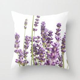 Purple Lavender #3 #decor #art #society6 Throw Pillow