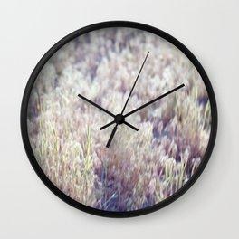 17 Sespe Grass Wall Clock