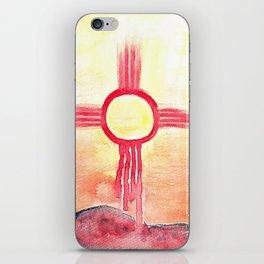 Desert Sun iPhone Skin