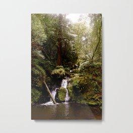 Cataract Creek Falls Upright Metal Print