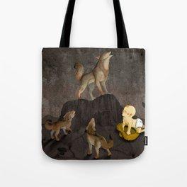 Teaching the Pups Tote Bag