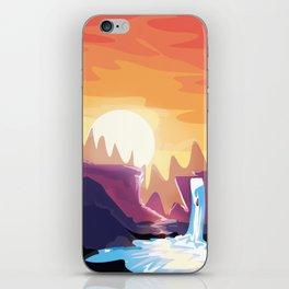 The waterfall iPhone Skin