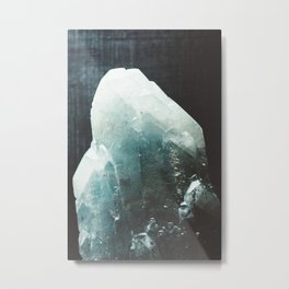 Crystallized Metal Print