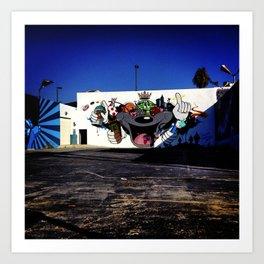 Culver City Graffiti Art Print