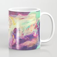 70s Mugs featuring 70s car by Psychedelic Astronaut