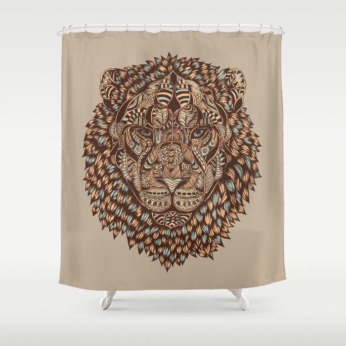 Lion (Royal) 2.0 Shower Curtain
