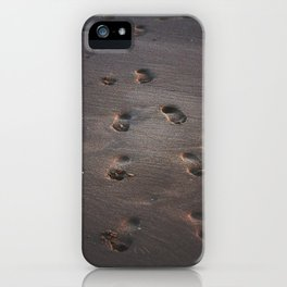 Burn In the Sand iPhone Case
