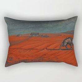 In the Borderlands Rectangular Pillow