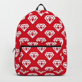 diamond red love style fashion trend popular 2018 2019 swag yolo band share cute support s6 a Backpack