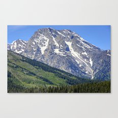 Grand Tetons Mountain and Slope Canvas Print