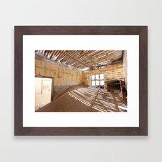 Kolmanskop Ghost Town Framed Art Print