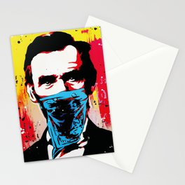 lincoln bandit Stationery Cards