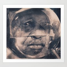 The Manner of Speaking; Sub-Saharan Diasporic Core Sample Art Print