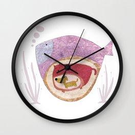 Fish by Thao Vu Wall Clock