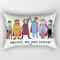 United, We Are Super! Rectangular Pillow