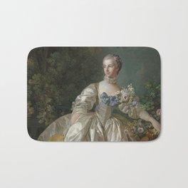 Madame Bergeret - François Boucher - 1766 Bath Mat
