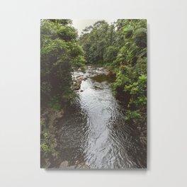 Jungle River Metal Print