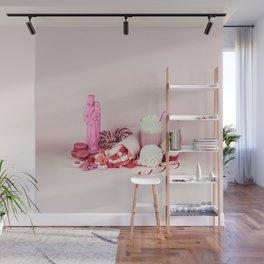 Sweet pink doom - still life Wall Mural