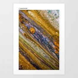 Jupiter Decending Art Print