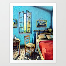 The Bedroom Art Print