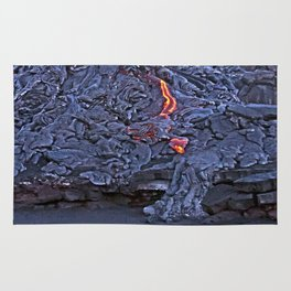 Kilauea Volcano Lava Flow. 2 Rug