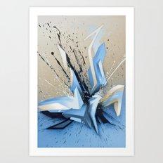 Cold Explosion Art Print