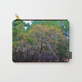 Pine Tree Landscape Carry-All Pouch