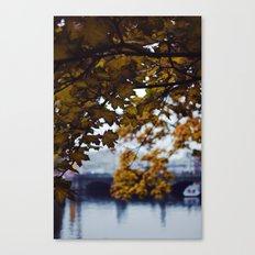 Autumn Nostalgia in Berlin Canvas Print